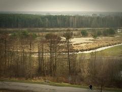The Lady on a/the Bike (JoannaRB2009) Tags: road trees bike forest river poland polska lodz d inowdz tomaszwmazowiecki anawesomeshot updatecollection