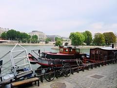 Port de Conti: Square de vert galant: Vedettes du Pont Neuf: Paris: September 2009 v1 (Barmy Bee) Tags: paris port square de vert du pont neuf 2009 galant conti vedettes