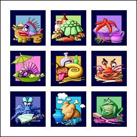 free Chinese Kitchen slot game symbols