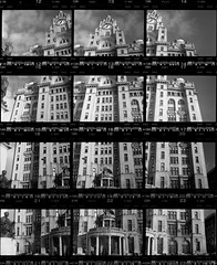 Royal Liver Building contact sheet (pho-Tony) Tags: camera b bw white snow black film broken birds collage liverpool 35mm vintage grid pier fuji russia head iso400 fsu angles ishootfilm unesco negative soviet sheet proof contact contactsheet zenit analogue 135 russian liver 58mm negatives hockney joiner mersey 44 zenith cubist helios liverbirds fragmented fractured c41 f20 hockneyesque zenitb filmisnotdead walteraubreythomas autaut carlbernardbartels worldheritagemaritimemercantilecity