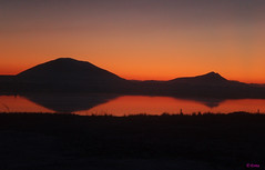 Sunset on Achill (Evita Coyle) Tags: ireland sunset mayo achill doolough erris geesala