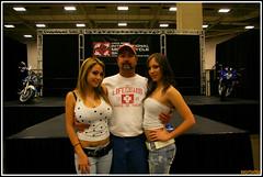 F.S. (Knightshot64) Tags: show hot dallas women large biker chicks girles