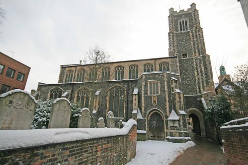 St John, Maddermarket, Norwich
