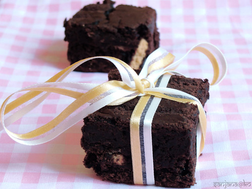 eggless/vegan brownies