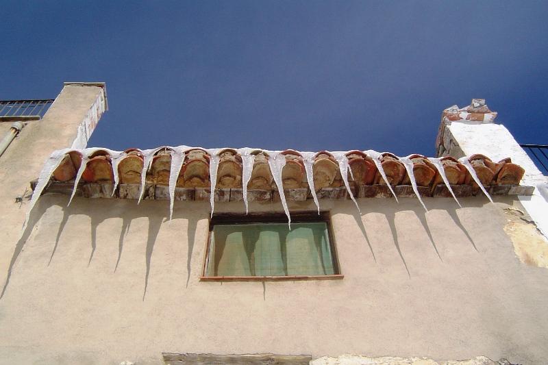.Frio en el tejado