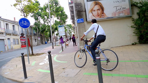 Montpellier is becoming one of France's top cycling cities. Photo: Jean-Louis Zimmermann