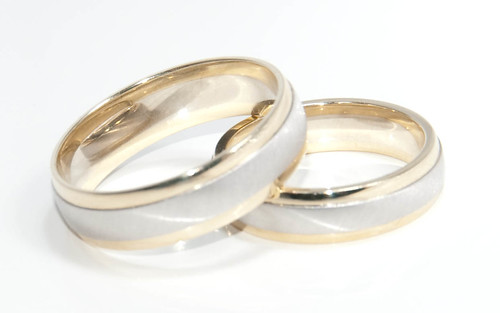 wedding rings. These are our wedding rings.