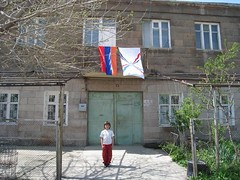 Armenian and Assyrian Flags,Armenia (Lea_from_Armenia) Tags: city boy house building town village child flag traditional christian holy tur armenia hay orthodoxe glise mesopotamia armenian turabdin assyrian syriac armenio armenien suryoyo caucas armenie echmiadzin armeno etchmiadzin caucasia suryoye abdin  hayastan chaldean armenienne assiri hayasdan echmiatsin assyriens syriaque armenisch  rmeny    assyrer asuri jermenia   suroye