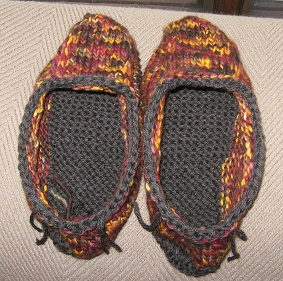 mal slippers unfelted