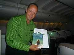 Aaron Nelson, Air New Zealand Concierge