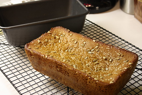 Gluten-free bread - finished product