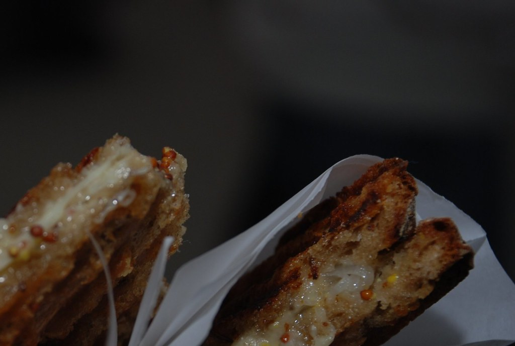 classic with a twist grilled cheese sandwich from milk truck