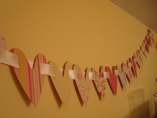 Satin Ribbon Garland