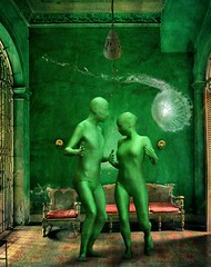 green dance (Eddi van W.) Tags: light green texture creativity energy digitalart gimp textures creativecommons kreativitt eddi07 graphicmaster