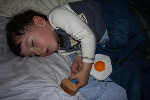 2010-01-24 levi asleep