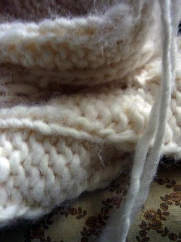 la mia lana, la sua sedia