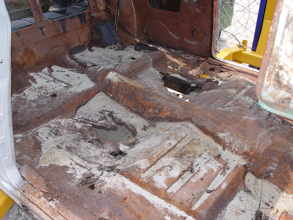 Tech Replacing Floors In A 55 Chevy The H A M B
