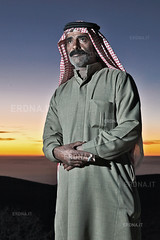 Bedouin at sunset | Jordan (andrea erdna barletta) Tags: sunset portrait man colors beard eyes flash jordan arab nomad bedouin jordanie jordania beduino  giordania badw   bedwin jordnia erdna andreabarletta   canon5dmarkii jordanportrait andreaerdnabarletta infoerdnait wwwerdnait almamlakaalurdunniyyaalhshimiyya almamlakaalurdunniyyaalhashimiyya jordaanje jordnia