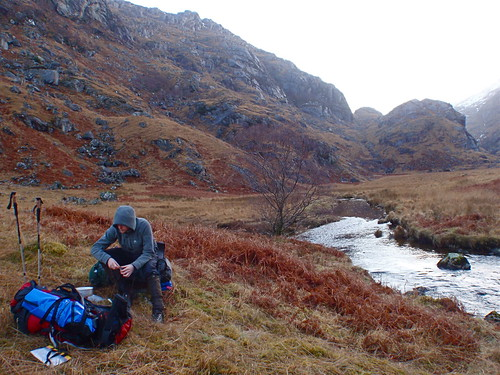 Across Scotland by foot and packraft