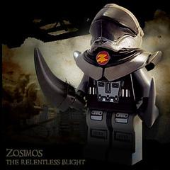 Zosimos, The Relentless Blight (Morgan190) Tags: halloween metal robot iron lego metallic machine minifig custom golem blight m19 minifigure morgan19 morgan190