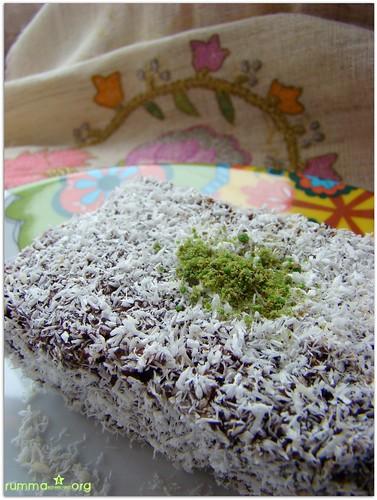 hindistancevizi kaplamalı kek