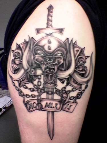 Motorhead XXX tattoo 2006 by Jason & Debbie