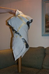 Week 3: Jury rigged draping, back