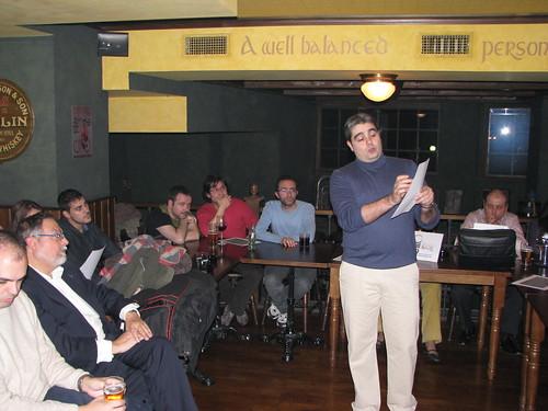 Ismael Pérez durante su charla (1)
