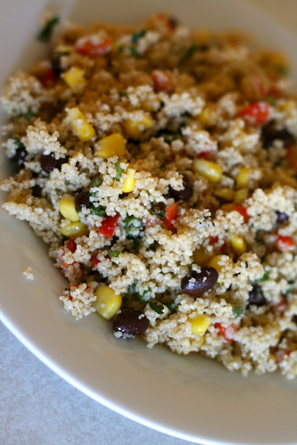 Couscous with Black Beans