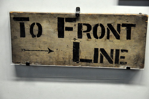 Trench Direction Sign by Kevin H., on Flickr