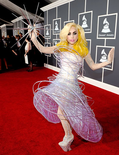 4322158100 679b06f835 Lady Gaga Grammy Outfit: Out of this World!