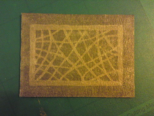 Bronze on bierpapier