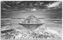Salty cone (alonsodr) Tags: bw paisajes white black blanco reflections landscapes andaluca sony negro bn salinas explore filter alpha cdiz alonso saltmine reflejos carlzeiss cokin sanlcardebarrameda a900 alonsodr gnd8 alonsodaz saariysqualitypictures x121s cz1635mm