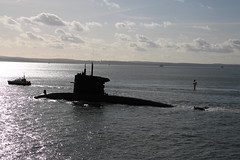 DUTCH SUBMARINE HNLMS DOLFIJN (John Ambler) Tags: dutch harbour class submarine portsmouth walrus dolfijn hnlms