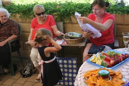 Valda, Margaret, Chloe and Joy