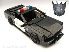 Barricade topview (Jason son) Tags: lego barricade saleen
