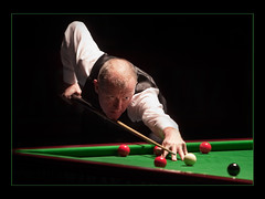 Steve Davis at the Billard (guenterleitenbauer) Tags: world pictures show friends ball table photo google flickr foto tour image photos flash steve champion balls