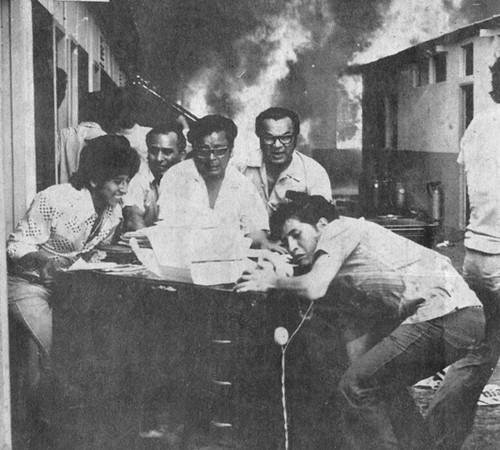 Incendio de los diarios Correo y Ojo de Lima