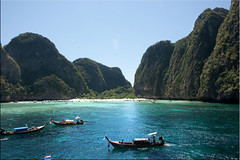 ...And Another Perfect Cove (Ursula in Aus (Away)) Tags: thailand island tropics krabi mayabay    phiphile earthasia   totallythailand