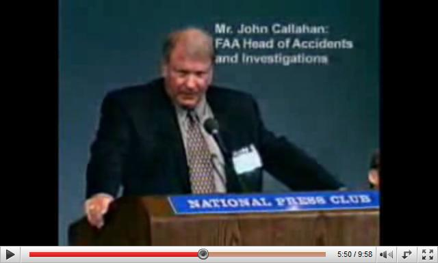 John Callahan faa head of accidents and investigations