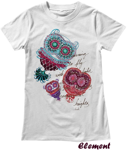 My Owl Barn Element Tees