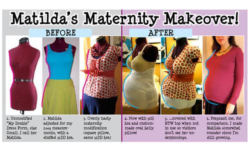 Matilda's Maternity Makeover