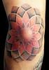 dotwork tattoo mandala