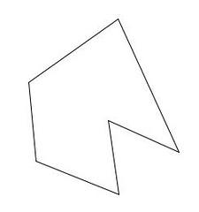 Polígono no convexo