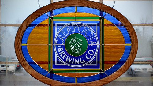 Calapooia Brewing Stained Glass
