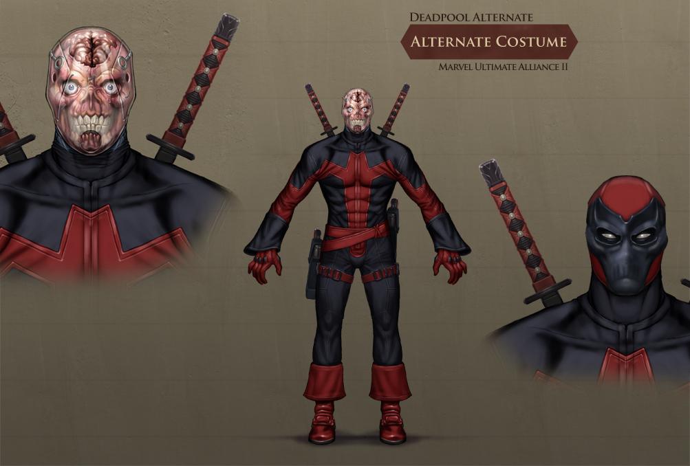 Marvel Ultimate Alliance 2 Concept Art & Art: Marvel Ultimate Alliance 2 Concept Art