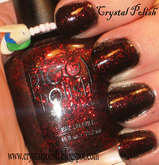 Piggy Polish Just Before Dawn (CrystalPolish) Tags: black glitter justbeforedawn piggypolish