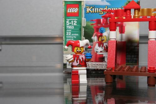 LEGO Toy Fair 2010 - Kingdoms - 7953 Jester - 1 by fbtb.