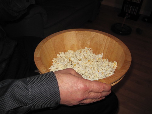 Popcorn at mom's