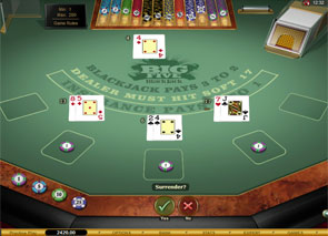 Big Five Blackjack Gold